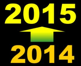 Selamat menyambut tahun baru 2015
